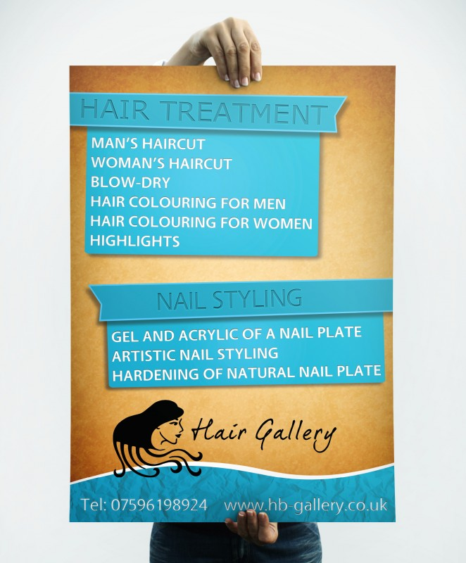 Hair Gallery - Poster