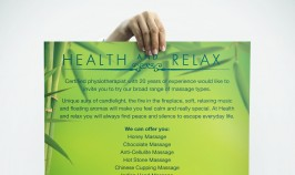 Health and Relax - Poster